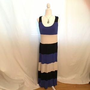 INC long sleeveless dress XL